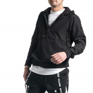 Ανδρικό μαύρο μπουφάν Windbreaker 2