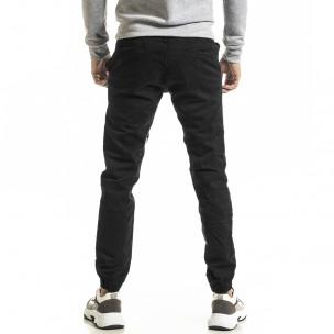 Ανδρικό μαύρο παντελόνι Jogger 2