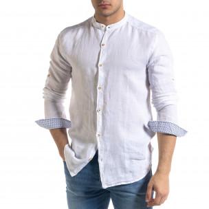 Ανδρικό λευκό πουκάμισο RNT23