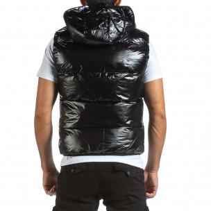 Ανδρικό μαύρο αμάνικο μπουφάν Adrexx 2