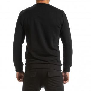 Ανδρική μαύρη μπλούζα Breezy 2