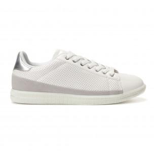 Ανδρικά λευκά sneakers Flair