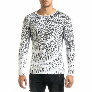 Ανδρική λευκή μπλούζα Melancholy