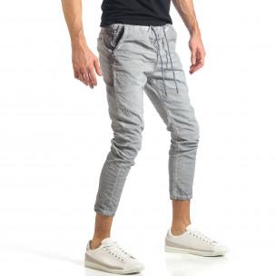 Ανδρικό γκρι παντελόνι Y-Two 2