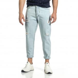 Ανδρικό γαλάζιο τζιν Loose fit