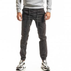 Ανδρικό γκρι παντελόνι Jogger