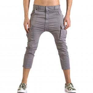 Ανδρικό γκρι παντελόνι XZX-Star