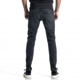 Ανδρικό μαύρο Long Slim  2