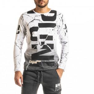 Ανδρική λευκή μπλούζα Punk Lagos