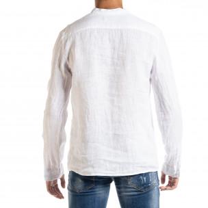 Ανδρικό λευκό πουκάμισο Duca Homme 2