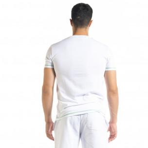 Ανδρική λευκή κοντομάνικη μπλούζα North's 2