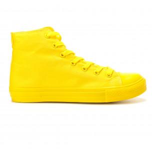 Ανδρικά κίτρινα sneakers Bella Comoda