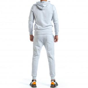 Ανδρικό γκρι αθλητική φόρμα Clang Clang 2