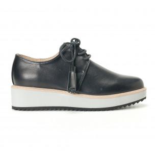 Γυναικεία μαύρα παπουτσια VeraBlum