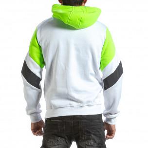 Ανδρικό λευκό φούτερ X-Feel 2