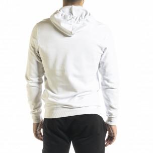 Ανδρικό λευκό φούτερ Basic Clang 2