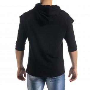 Ανδρικό μαύρο φούτερ Open 2