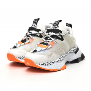 Γυναικεία λευκά sneakers Sense8 2