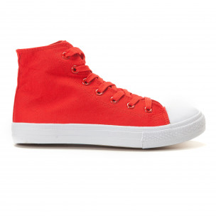Ανδρικά κόκκινα sneakers Bella Comoda  2