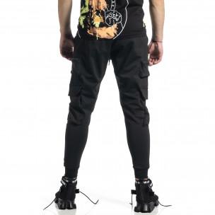 Ανδρική μαύρη φόρμα Adrexx 2