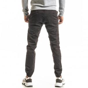 Ανδρικό γκρι παντελόνι Jogger 2