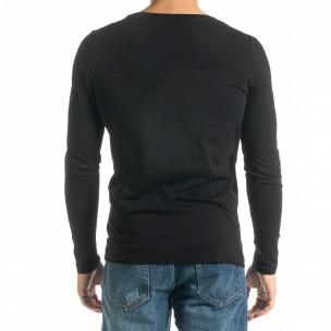 Ανδρική μαύρη μπλούζα Mickey Gloves 2
