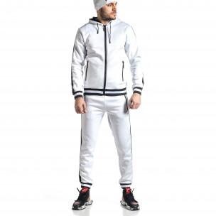 Ανδρικό λευκό αθλητική φόρμα Golden Time
