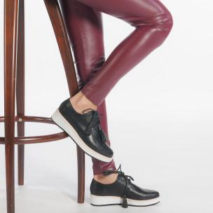 Γυναικεία μαύρα παπουτσια VeraBlum 2