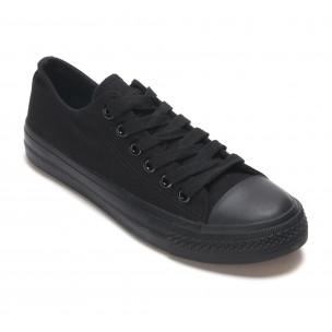 Ανδρικά μαύρα sneakers Bella Comoda  2