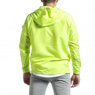 Ανδρικό πράσινο μπουφάν Windbreaker 2