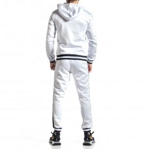 Ανδρικό λευκό αθλητική φόρμα Golden Time 2