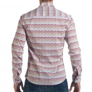 Ανδρικό γκρι πουκάμισο Mario Puzo  2
