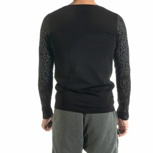 Ανδρική μαύρη μπλούζα Melancholy 2