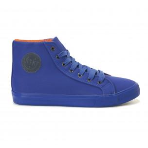 Ανδρικά γαλάζια sneakers Staka