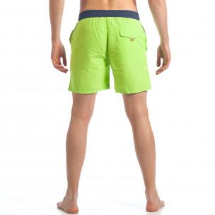 Ανδρικό πράσινο μαγιό Austar Jeans  2