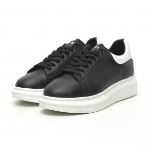 Ανδρικά μαύρα sneakers Breezy Breezy 2