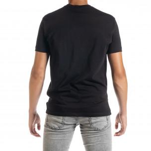Ανδρική μαύρη κοντομάνικη μπλούζα Freefly 2