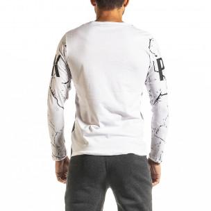 Ανδρική λευκή μπλούζα Punk Lagos 2