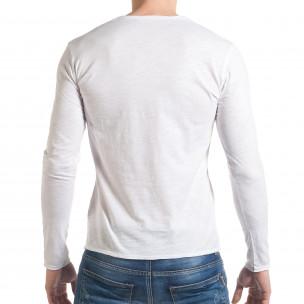 Ανδρική λευκή μπλούζα Y-Two  2