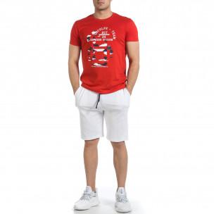Ανδρικό κόκκινο αθλητική φόρμα Disculpe 2