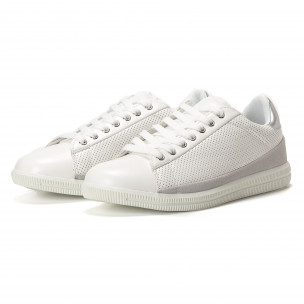 Ανδρικά λευκά sneakers Flair 2