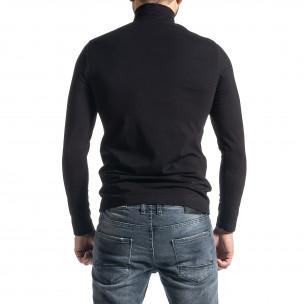 Ανδρική μαύρη μπλούζα Duca Homme 2