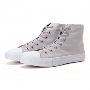 Ανδρικά γκρι sneakers Bella Comoda
