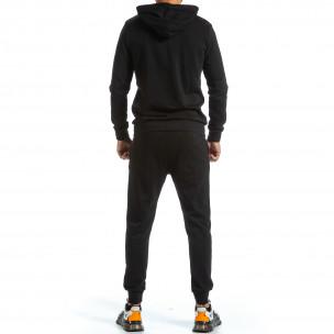 Ανδρικό μαύρο αθλητική φόρμα Furia Rossa Clang 2