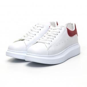 Γυναικεία λευκά sneakers Bambi 2