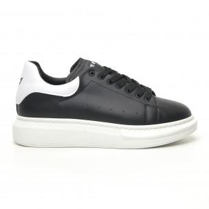 Ανδρικά μαύρα sneakers Breezy Breezy