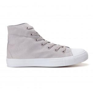 Ανδρικά γκρι sneakers Bella Comoda 2