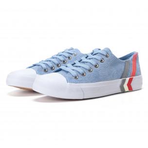 Ανδρικά γαλάζια sneakers Mondo Naturale  2