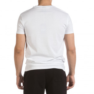 Ανδρική λευκή κοντομάνικη μπλούζα Sweet Years 2