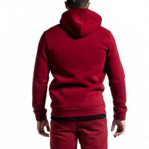 Ανδρικό κόκκινο φούτερ Clang Clang 2